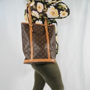 Louis Vuitton Bucket GM Shoulder Bag